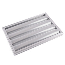 Aluminum wire baguette french bread tray perforated