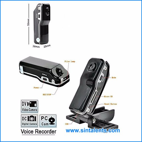 High quality Mini wireless Camera DV Cameras Recorder MD80 micro camera