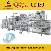 High Quality Economic Disposal Absorbent Kao Merries Diaper Machine