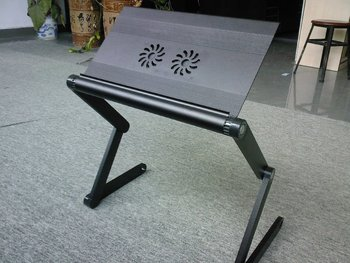 OMAX HOT SELLING aluminum portable 360 degree adjustable laptop stand!!