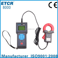 ETCR8000 Single Channel Leakage Monitoring Recorder