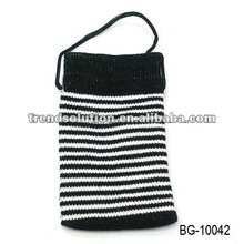 trendy fancy new cell phone bag with velcro