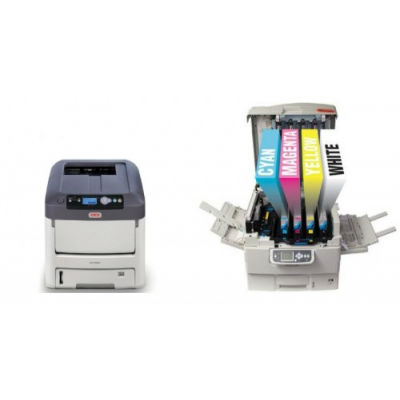 Laser Printer with White Toner C711WT (A4)