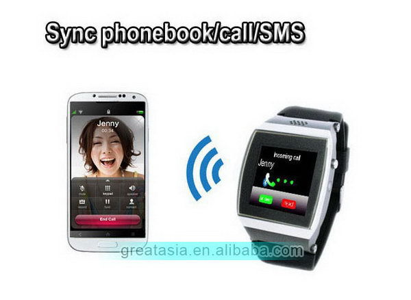 New style hot-sale fashion sport watch cell phone