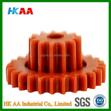 small plastic pinion helical gear, plastic nylon drive pinion gears