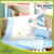 blue small bear baby duvet set