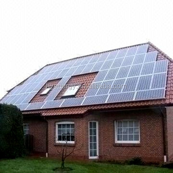 HYE 5kw off grid solar power system solution for home use