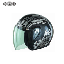 One belt and one road decal adult motor helmets open face motorbike helmet full face