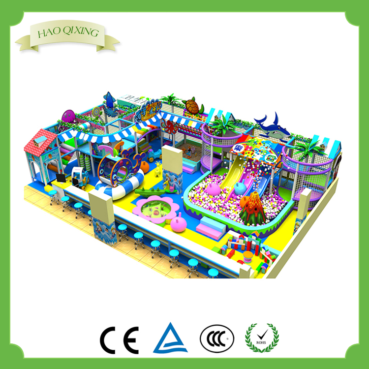 Large indoor playground kids game toy equipment