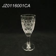 Factory price hot sales stocked engraved wine glass goblet