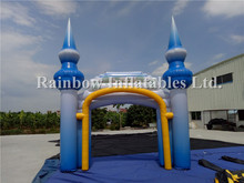 Advertising Inflatable Arch Gate/Inflatable Finish Line Entrance Arch Game