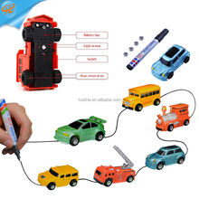 Magic Inductive Truck Follows Black Line Magic Toys Car for Kids & Children