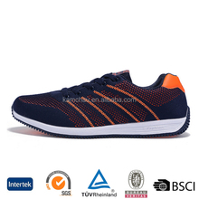 hot fashion oem design custom brand durable lightweight mens sports running shoes made in china