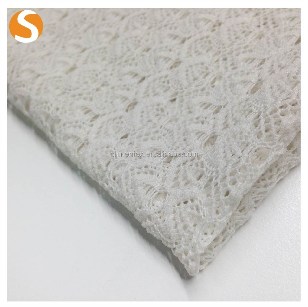 Polyester Rayon Hacci Loose Knit Fabric For Sweater