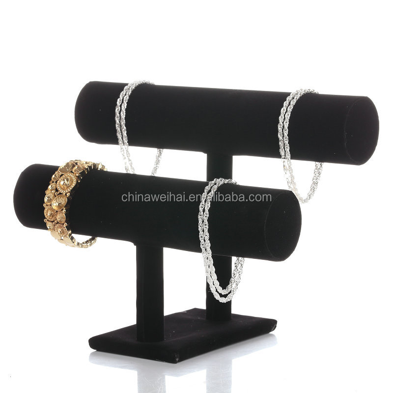 2018 New Design Black  Velvet Watch Display Stand