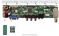 LCD TV main Board/HDMI/VGA/AV/USB/AUDIO for 1920x1080 Display
