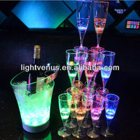Factory sale Romantic liquid active LED Drinking Glass