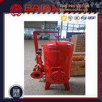 Low expansion foam red fire fighting system foam tank for supplier