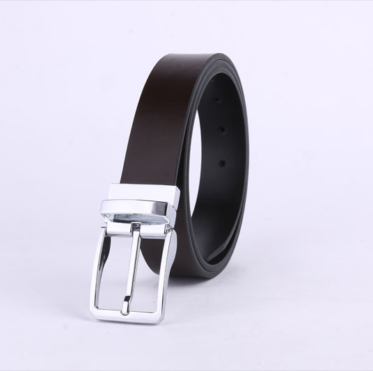 reversible buckle black and dark brown man leather <strong>belt</strong>