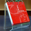 promotional acrylic desk calendar with EXW price