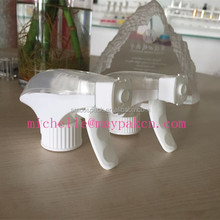 Cosmetic package industry Screen printing with good quality from Yuyao all plastic trigger sprayer/Foam