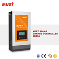 wall mounted LCD display 36V controlador solar 80A MPPT charger for lithium battery