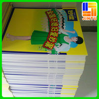 Advertising poster board printing, 4x8 foam sheets, forex board
