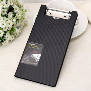 Fashion design black color wall plastic file folder holder