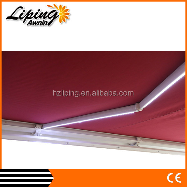 2016 home decoration window retractable folding arm awning