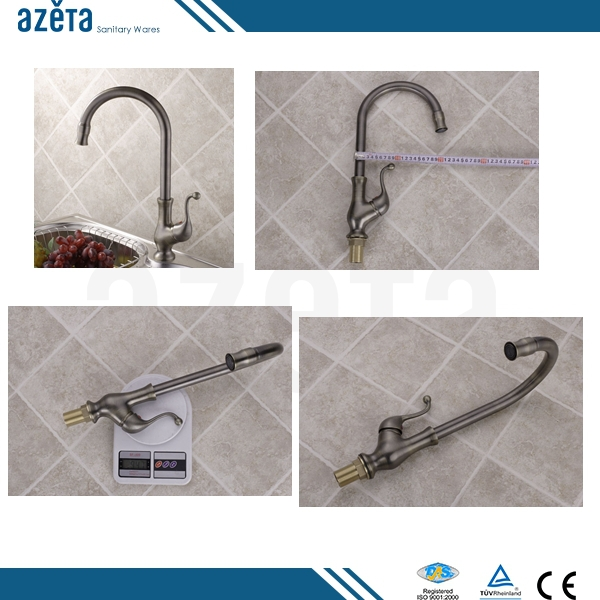 ZheJiang Advantment Single Handle Antique Copper Kitchen Faucet