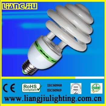 warm white, snow white 20w half spiral energy saving lightings