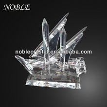 Noble Custom Made Crystal Arab Dhow