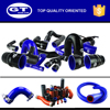 blue rubber high pressure OEM silicone hose /tube /piping/ tubing /pipe