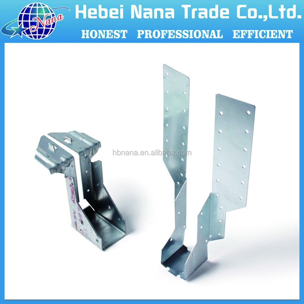 high quality metal wood timber connector / metal pole clamp bracket,