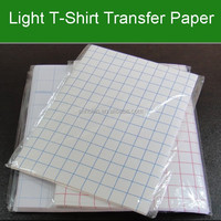 A3 A4 140g 150g Light T-shirt Heat Transfer Paper For Inkjet Printing