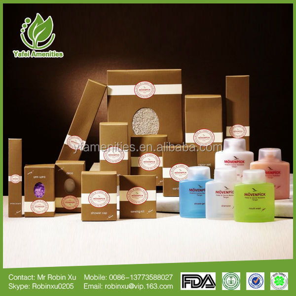 2017 Factory Wholesale Low price and New style Hotel Amenities