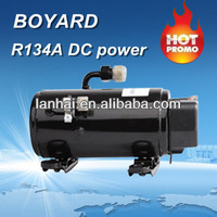 Auto R134A dc air boyard 12v compressor for ar condicionado electric car air condition solar aircons