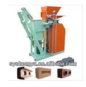 SY1-25 automatic hydraulic cement+clay refractory brick cutting machine
