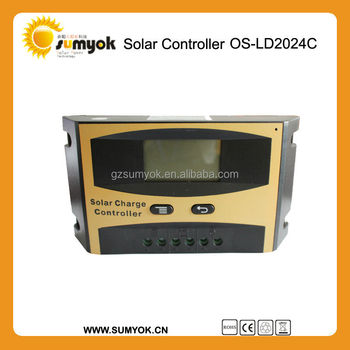 2015 Hot Selling Promotion Price 3A 6A 10A 20A 30A 50A 60APWM Solar Charge Controller