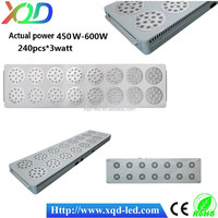 LED grow lights 720W led grow light high power 240 * 3w led plant lights, hydroponics Chinese Suppliers