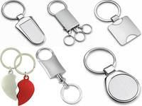 Promotional Gifts cheap custom logo print blank key chain to USA