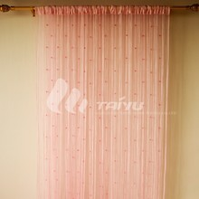 Popular for glass doors ready made austrian curtains