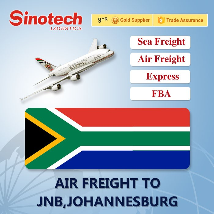Cheap Air Freight Air Cargo Shipping Company China to SHOUTH AFRICA