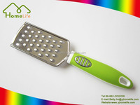 hot sale utility stainless steel food grater with PP handle/vegetable grater