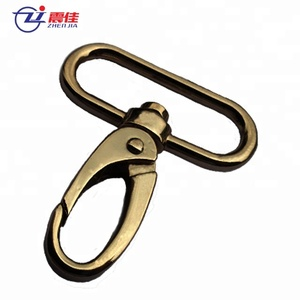 zinc alloy Swivel Eye Lanyard Metal Snap Hook And Clasp For Purse Bag