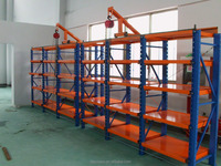 On line shopping mould rack with China price and steel for warehouse and industry storage