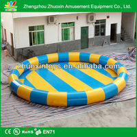 CE, UL certificate rectangular above ground big hard plastic swimming pool