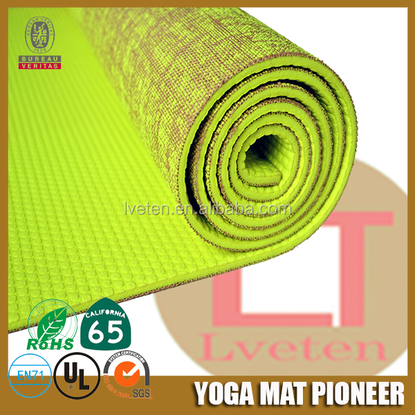 Alibaba wholesale eco friendly high quality yoga mat and bag yoga mat strap