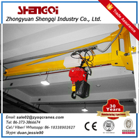 New year discount bz model column mounted swing jib crane with trade assurance