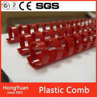 Rubber Stocks plastic combs for book binding comb,plastic comb binding book binding ring,plastic comb binding book ring